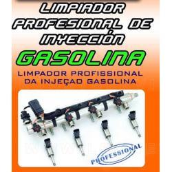 Limpiador profesional de inyección gasolina