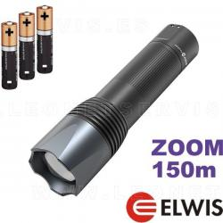 Linterna técnica y profesional de LED VAQS S5 PRO con zoom