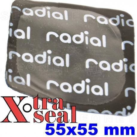 Parche vulcanizado cuadrado 45x45 mm de uso general