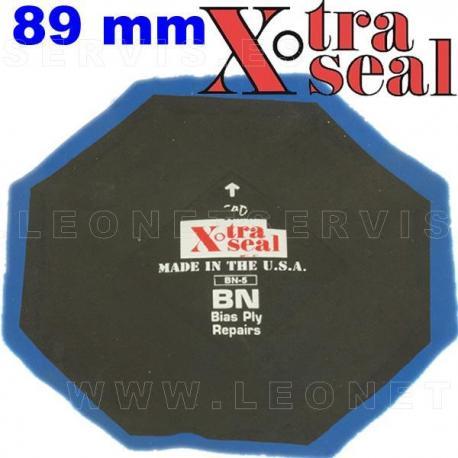 Parche Xtra Seal octogonal extrareforzado para vehículo agrícola. 89 mm
