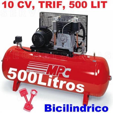 Compresor de aire MPC de 7,5 CV trifásico SNB50075