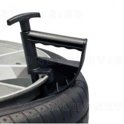 Pinza de ayuda para desmontadoras de los neumáticos