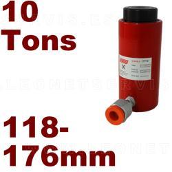 Pistón hidráulico 10 T