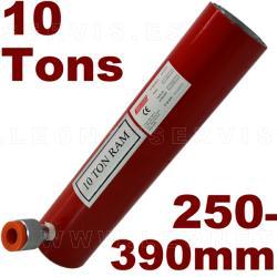 Pistón hidráulico (250 a 390mm)