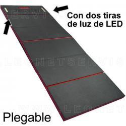 Colchoneta plegable con luz LED