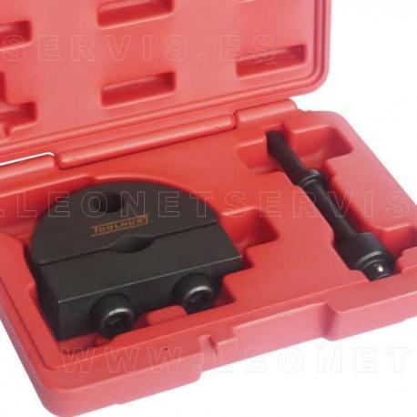 Adaptador de martillo neumático para extractor de inyectores