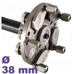 Centrador STANDARD para llantas ciega sin agujero central para las equilibradoras de eje 36 mm