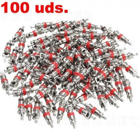 Obuses de válvula, 100 uds