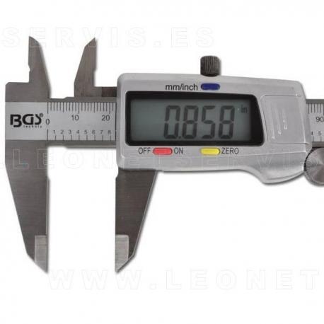 Calibre digital 150mm