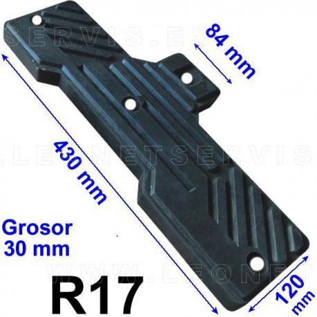 R16 taco de goma para desmontadoras de neumáticos chinas, consultar listado...