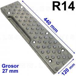 TR14 taco de goma para desmontadoras Coats, Corghi, Sicam, Bosch, Sice, Mondolfo Ferro...