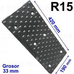 TR15 taco de goma para desmontadoras ATH, Sice, Fog, Konigstein (EVYRAN), Bosch, Hunter...