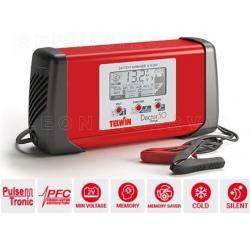 Cargador de baterías convencionales Telwin ALPINE 20, 12-24V y 18-12 amperios