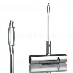 Útil metálico para introducir nsertos (mechas) en el neumático