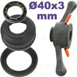 Palomilla conmpleta de aprite rápido para equilibradoras de eje 36 mm