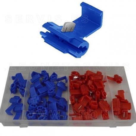 Surtido de manguitos termoretráctiles de colores, 100 piezas