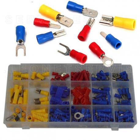 Surtido de conectores electricos tipo BRANCH, 50 piezas