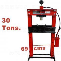 Prensa hidraulica de 12 toneladas con soporte