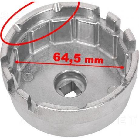 Llave de filtro de aceite de 14 lados para motores Toyota y Lexus 1.8 litros