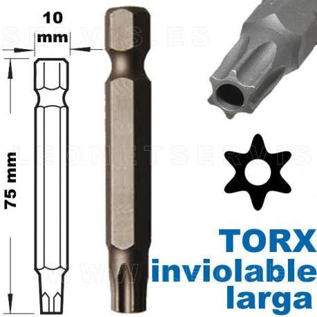 puntas torx invioable
