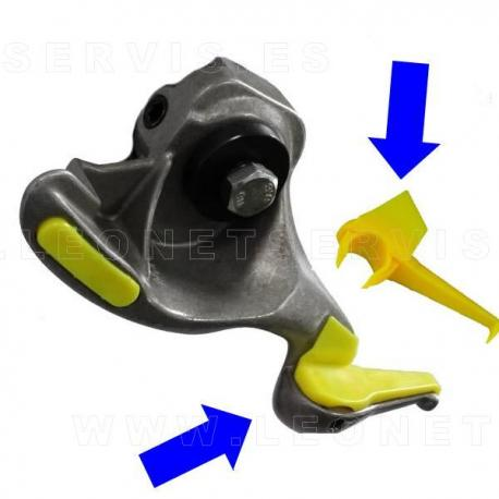 Protección interior para la uña UNIVERSAL de acero de moto y coche, 5 uds.