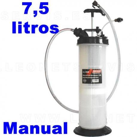 Bomba manual de extracción de aceite de 7,5 litros