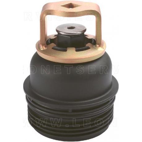 Llave para filtros de aceite de Kia y Hyundai