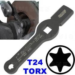 Llave de golpeo E18 TORX para aflojar tuercas de caliper