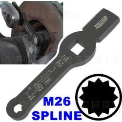 Llave de golpeo M26 TORX para aflojar tuercas de caliper