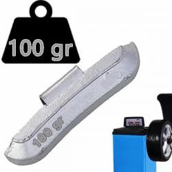 Contrapesa de 100 gramos para calibración de equilibradora