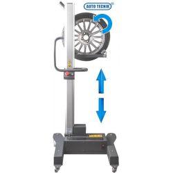 Elevador y operador de ruedas a batería recargable