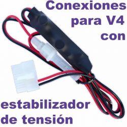 Estabilizador de tensión de 12V, con fusible, para Terratrip y Blunik