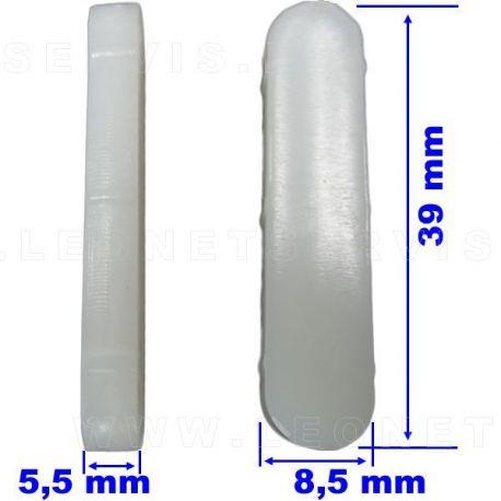 Protección para uñas de acero Hunter y otras. 5 uds.