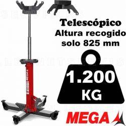 Gato de foso telescópico MEGA de 1.200 kilos de capacidad