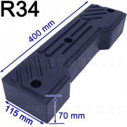 R34 taco de goma para desmontadoras de neumáticos