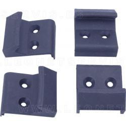 Cubiertas para garras de acero para desmontadoras de moto KNR102. 4 unidades