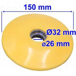 Disco de empuje para brazo de ayuda de la desmontadora