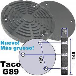 G89 Taco de goma de diámetro 145mm para elevadores Istobal Velyen