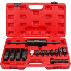 Kit de extractores de inyectores diésel, 14 Pzs