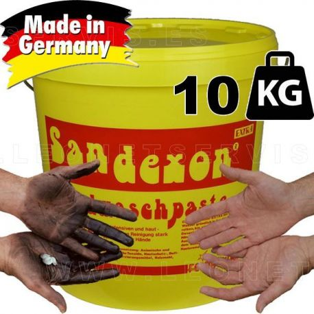 Pasta lava manos especial taller, con micropartículas, 10 kilos