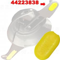 Protección para uña de acero compatible con Corghi, 5 unidades