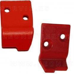 Protección para uña de acero compatible con Snap On, 5 unidades