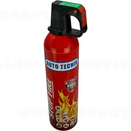 STOP FIRE 750 ml Mini extintor de espuma