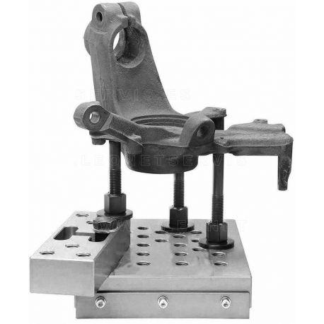 Bloque de apoyo universal para prensa hidraulica