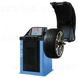 Equilibradora de ruedas semiautomatica