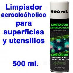 Higienizante aeroalcohólico profesional para superficies. Spray 500ml. ENVIO HOY MISMO!!!