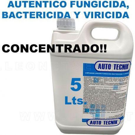 BACTERICIDA, FUNGICIDA VIRICIDA concentrado.  5 litros