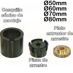 Util montaje / desmontaje de silent-block, diametros 50, 60, 70 Y 80MM