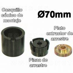 Util montaje / desmontaje de silent-block, diametros 70 MM