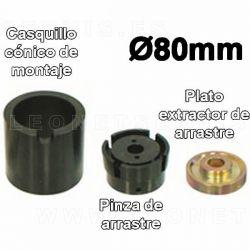 Util montaje / desmontaje de silent-block, diametros 80 MM